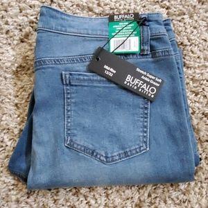 David Bitton Midrise Super Soft Blue Ankle Jeans
